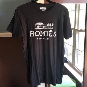 Homies New York Black T-Shirt